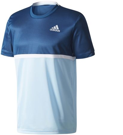 Adidas moška majica Court Tee, Night/Icey Blue, S