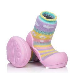 Attipas dívčí botičky Attibebe Pink