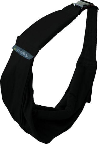Minimonkey Nosítka Baby Sling 4v1 černá