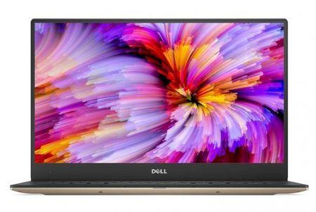 DELL prenosnik XPS 13 i7-8550U/8GB/SSD256GB/13.3QHD+Touch/W10P, zlat (5397184054369)