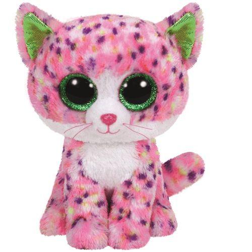 TY SOPHIE - růžová kočka 24 cm