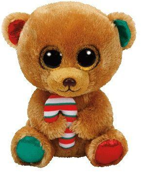 TY BELLA - hnědý medvěd s lízátkem 24 cm