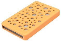 "Orico zunanje ohišje za HDD/SSD 6,35 cm (2,5"") USB 3.0, UASP, SATA3, ALU, oranžen silikon"