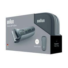Braun brivnik Series 3-3000 - black v torbici Promo
