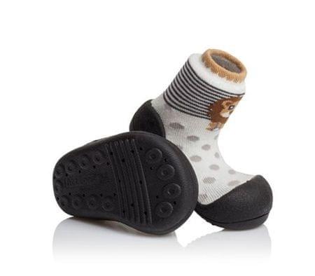 Attipas detské topánočky Zoo Black 19 viacfarebná