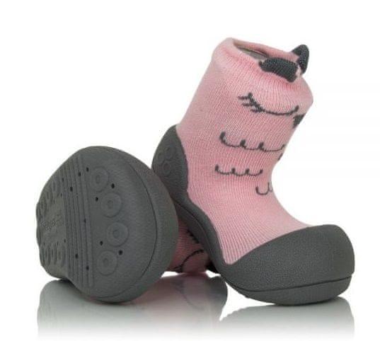 Attipas dívčí botičky Cutie Pink 19 růžová
