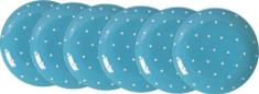 Ritzenhoff&Brecker talerze 19 cm Blue 6 szt