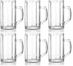 Ritzenhoff&Breker Brema sklenice na pivo 500 ml, 6 ks