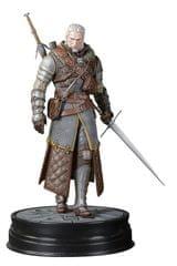 figurka Geralt w zbroi Szkoły Niedźwiedzia - Wiedźmin 3 Dziki Gon