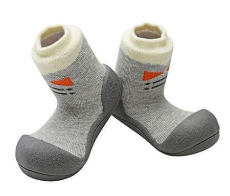 Attipas gyermek cipő Tie Gray 19 szürke
