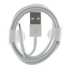 Apple Lightning datový kabel MD818 pro iPhone 5, 2434278, bílý (Round Pack)