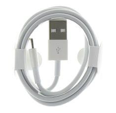 Lightning datový kabel MD818 pro iPhone, 2434278, bílý (Round Pack)