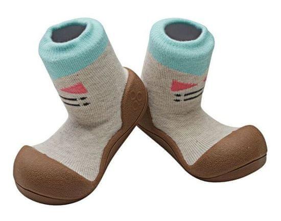 Attipas gyermek cipő Tie Brown
