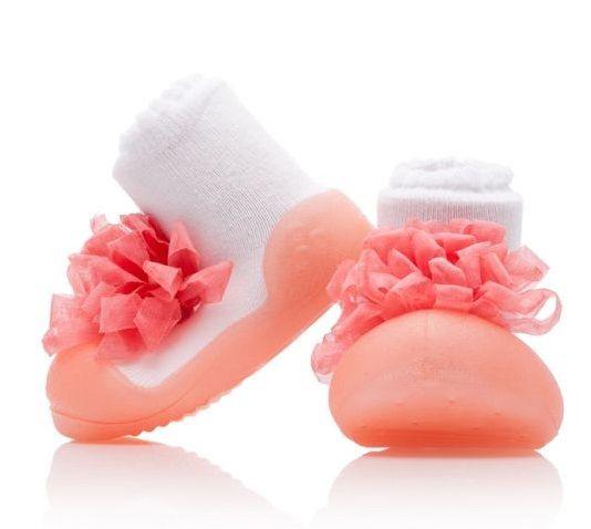 Attipas dívčí botičky New Corsage Pink