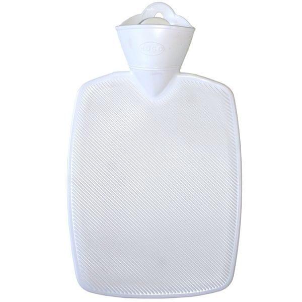 Hugo Frosch Termofor Classic s vysokým drážkováním - bílý, zvýšená tepelná izolace