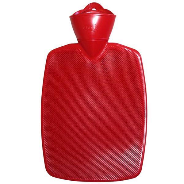 Hugo Frosch Termofor Classic s vysokým drážkováním - červený, zvýšená tepelná izolace