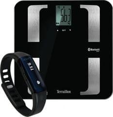 Terraillon Fitness csomag (Web Coach Prime mérleg + Activi-T Band aktivitásmérő) outlet