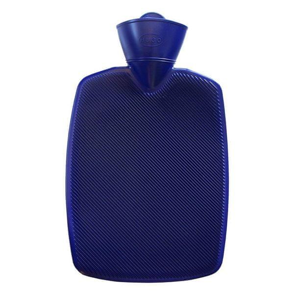 Hugo Frosch Termofor Classic s vysokým drážkováním - modrý, zvýšená tepelná izolace