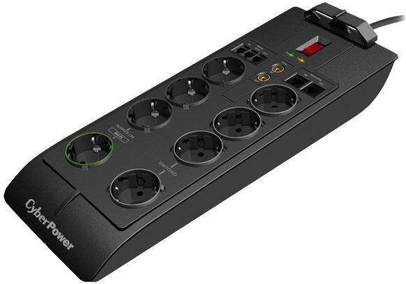 CyberPower Surge Buster™, 8 zásuvek, RJ11, RJ45, TV (SB0801PRG-FR)