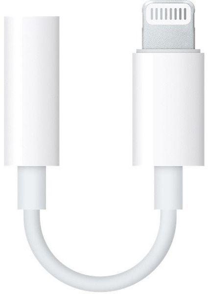 Apple Lightning Adaptér Pro 3,5mm Sluchátkový Jack, mmx62zm/A, Bílý Eu Blister