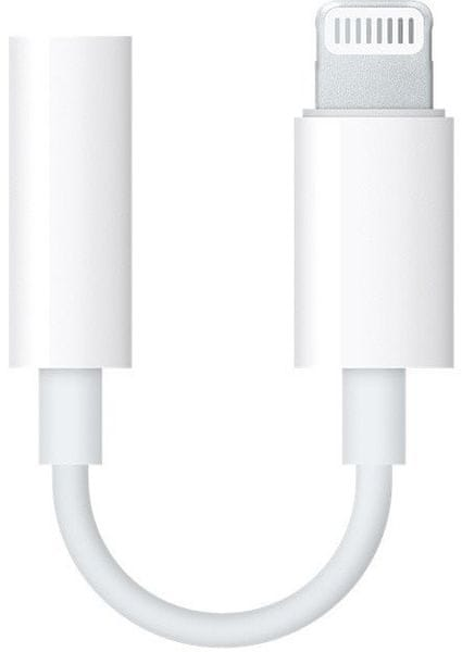 Apple Datový Kabel Lightning/3,5mm pro iPhone, MMX62ZM/A, bílý (EU Blister)