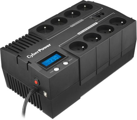 CyberPower BRICs Series II SOHO 700VA/420W, 8 zásuvek (BR700ELCD-FR)