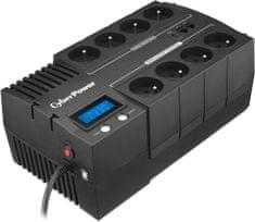 CyberPower BRICs Series II SOHO 1000VA/600W, 8 zásuvek (BR1000ELCD-FR)