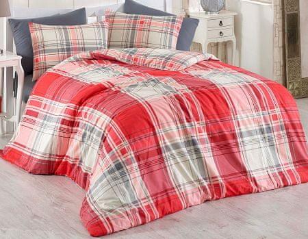BedTex posteljnina Alexia Red, 200x220