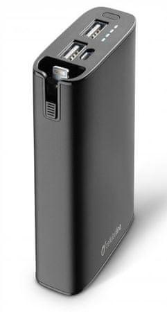 CellularLine prenosna baterija 6700, Lightning+microUSB