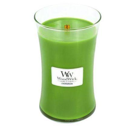 Woodwick svijeća Large, Evergreen (93142)