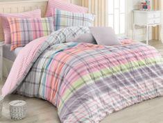 BedTex posteljnina Riva, 140x200/ 70x90 cm, roza