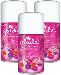 Glade Automatic PACK 3x náplň Sweet Candy Joy 269 ml