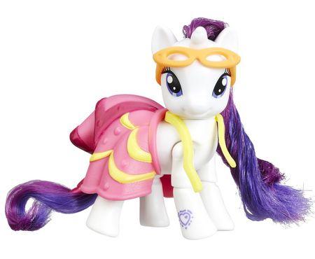 My Little Pony Poník s kĺbovými nožičkami a doplnkamiy - Rarity
