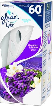 Glade Automatic Spray Levanduľa & Jazmín strojček 269 ml