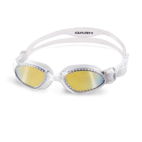Head Brýle plavecké SUPERFLEX MID zrcadlové, trans