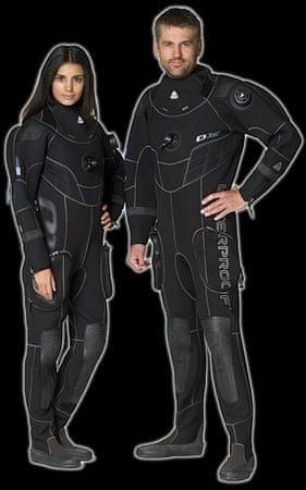 WATERPROOF Oblek D10 PRO suchý 3,5mm - Dámsky, ML