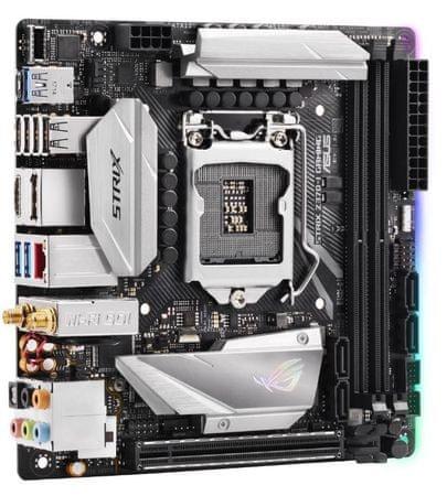 Asus osnovna plošča ROG STRIX Z370-I Gaming, DDR4, SATA3, USB3.1Gen2, LGA1151, mini ITX