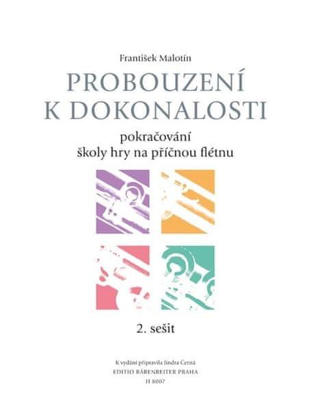 KN Probouzení k dokonalosti - učebnice 2. sešit Škola hry na příčnou flétnu