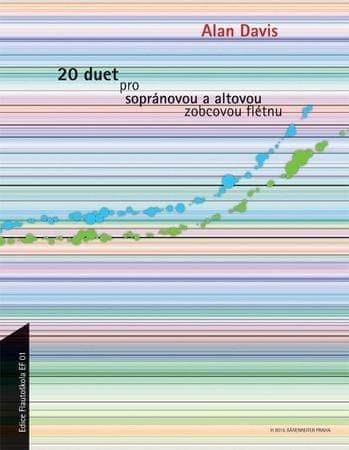 KN 20 duet pro sopránovou a altovou zobcovou flétnu Škola hry na zobcovou flétnu
