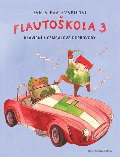 KN Flautoškola 3 - klavírní / cembalové doprovody Škola hry na sopránovou zobcovou flétnu