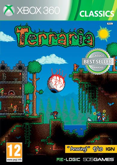 505 Gamestreet Terraria X60 (Xbox 360)
