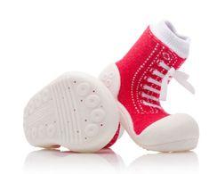 Attipas dětské botičky Sneakers Red