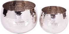 Wittkemper Set svícnů na čajovou svíčku stříbrné, 2 ks