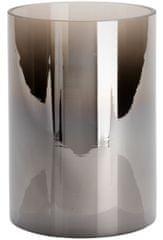 Wittkemper Svietnik sklenený dymový, 17 cm
