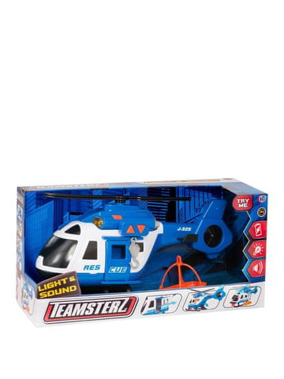 Teamsterz Záchranný vrtuľník so zvukom a svetlom