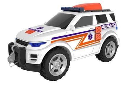 Alltoys Teamsterz reševalni jeep z zvočnimi in svetlobnimi efekti