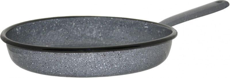 Metalac Pánev klasik GASTRO 24 cm dekor kámen