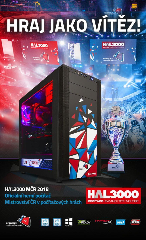 HAL3000 Herní sestava MČR 2018 Pro