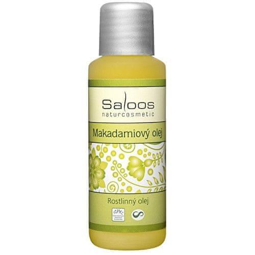 Saloos Rostlinný olej lisovaný za studena - Makadamiový 50 ml