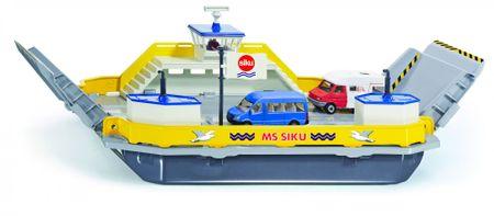 SIKU Super - Trajekt pro přepravu aut s dárkem, 1:50